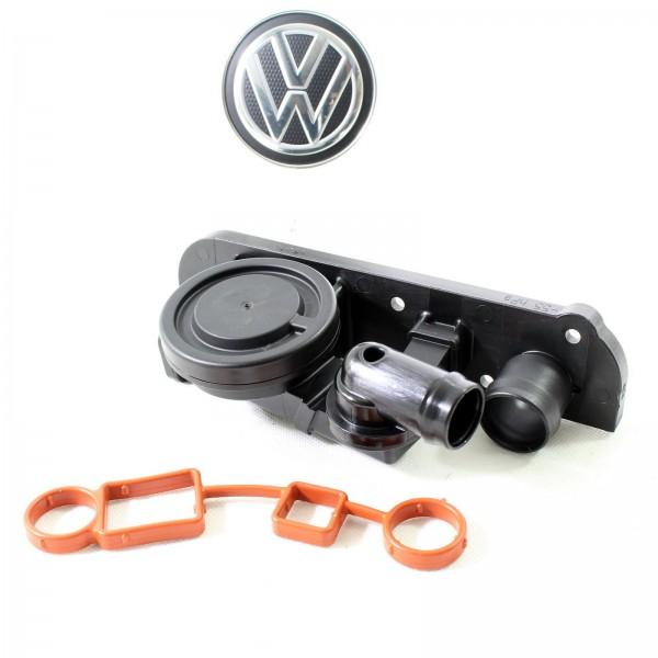 Original VW Golf V-VI Druckregelventil Kurbelgehäuseentlüftung inkl Dichtung NEU