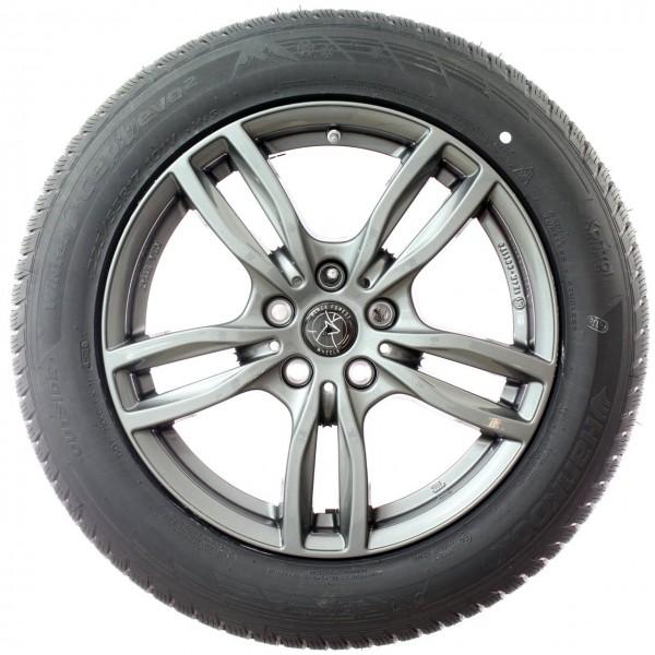 Black Forest Wheels Pine 17 Zoll Winterkompletträder BMW X1 F48 RDC NEU