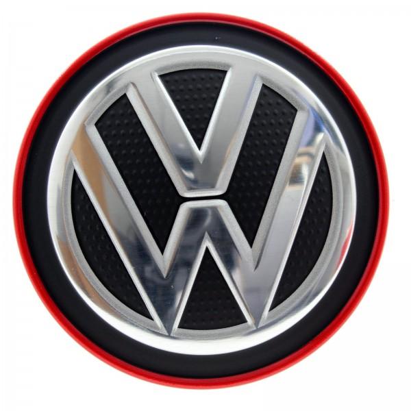 Original Volkswagen Nabendeckel VW Golf GTI Clubsport Rot 5G0601171 BLYC NEU
