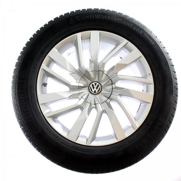 Original VW Touareg III CR Winterradsatz Osorno 18 Zoll RDKS 760601025E