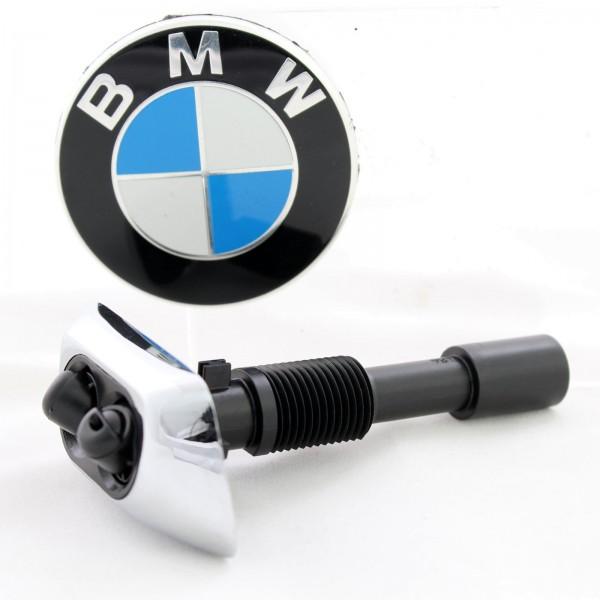 BMW 7er E38 Original Spritzdüse Chrom für Scheibenwaschanlage Rechts 8352896 NEU
