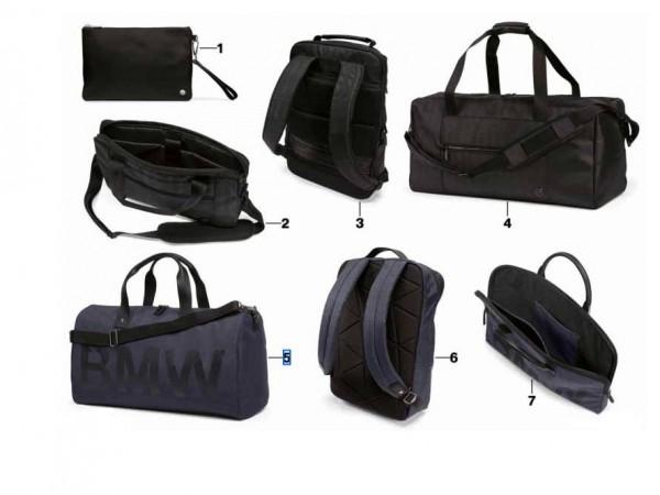 Original BMW Duffle Bag Modern Tasche Blau 80222454684 NEU