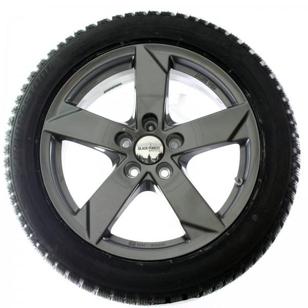 Black Forest Wheels Winterradsatz Ash 16 Zoll Graphit VW Caddy 2KN Maxi NEU