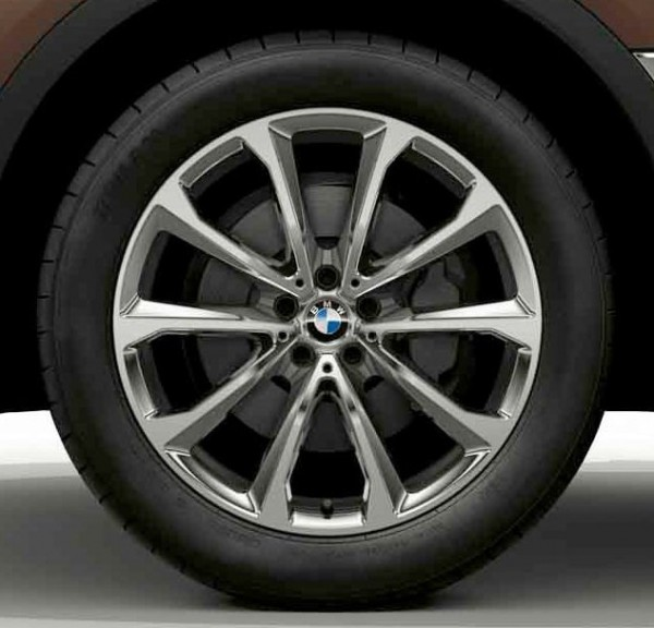Original BMW Winterkompletträder X7 G07 Conti 20 Zoll 36112462583 NEU