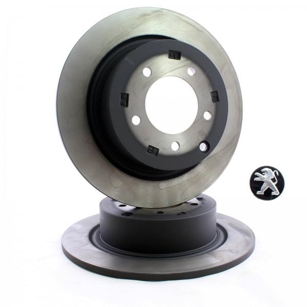 Peugeot 4007 4008 Original Bremsscheiben Satz hinten Break Disc 302x10 161166788