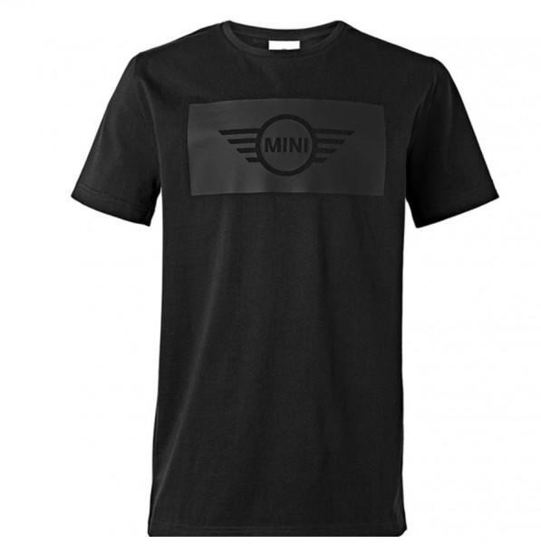 Original MINI T-Shirt Men´s Wing Logo Cut-Out Schwarz L 80142445614 Neu
