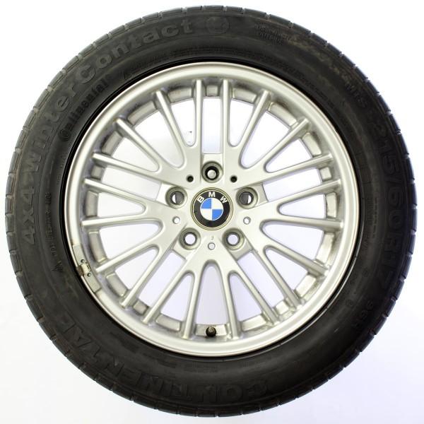 Original BMW X3 E83 Winterreifen Winterräder V-Speiche 110 17 Zoll 36113401198