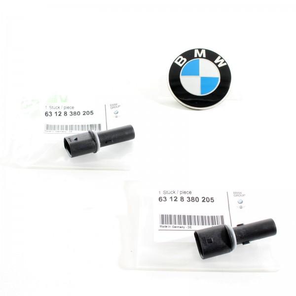 Original BMW SET Standlicht Buchse Lampenträger 3er E46 63128380205 NEU