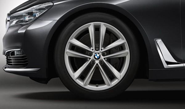 """Original BMW Winterradsatz Doppelspeiche 630 RDC 19"""" 6er G32 7er G11 36112414753"""