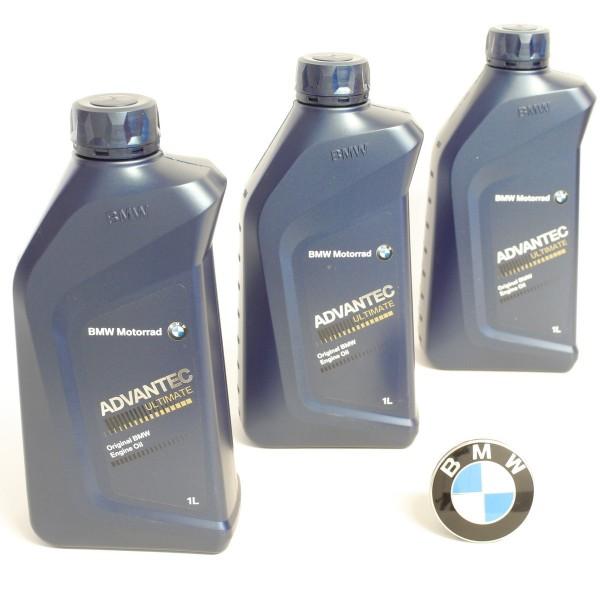 Original BMW Motorrad Motoröl Advantec Ultimate 5W40 3 Liter 83122405887