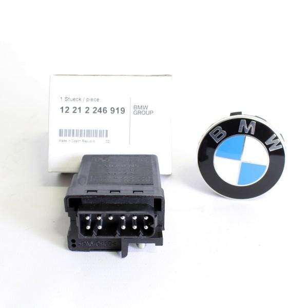 Original BMW Glühstift Steuergerät Relais 12212246919 3er E46 X5 E53 NEU