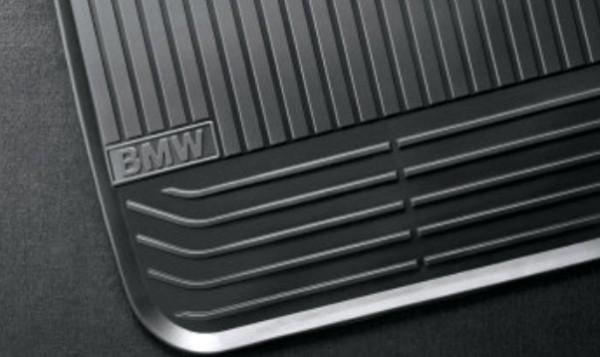 Original BMW Gummimatten Satz hinten Fußmatten 7er F01 F02 51472409275 NEU