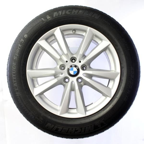 Original 18 Zoll BMW X5 F15 Sommerradsatz Doppelspeiche 446 RDC 6853952