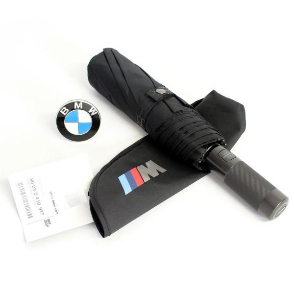 Original BMW M Regenschirm schirm schwarz Taschen schirm 80232410917 2410917