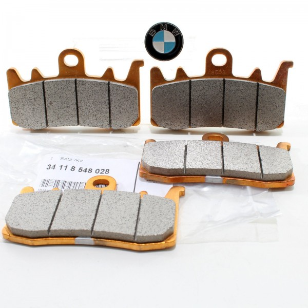 2x Original BMW Motorrad Bremsbeläge vorne RnineT S1000XR R1200GS F800R 8548028