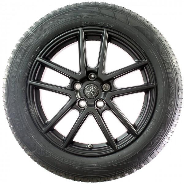 Black Forest Wheels Winterradsatz Limewood X1 F48 X2 F39 17 Zoll Schwarz RDC