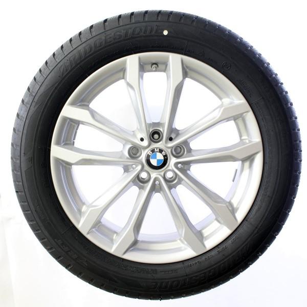 Original BMW V-Speiche 691 Winterradsatz 19 Zoll X3 G01 X4 G02 36110003058 NEU