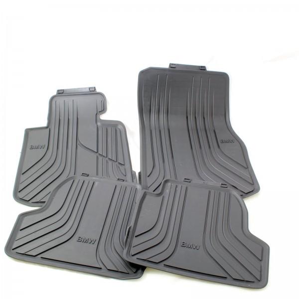 Original BMW 4er F32 Allwetter Fußmatten Basis SET vorne + hinten 2348158 NEU