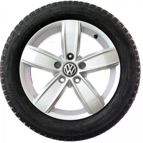 Original VW Golf VII 16 Zoll Winterkompletträder Corvara 5G0071496A