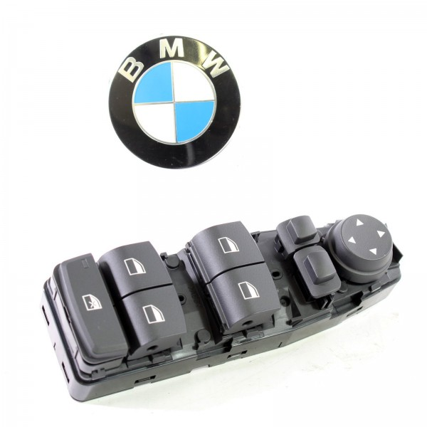 BMW 5er F07 F10 F11 6er F06 X3 F25 Original Bedieneinheit Tür 61319241955 NEU