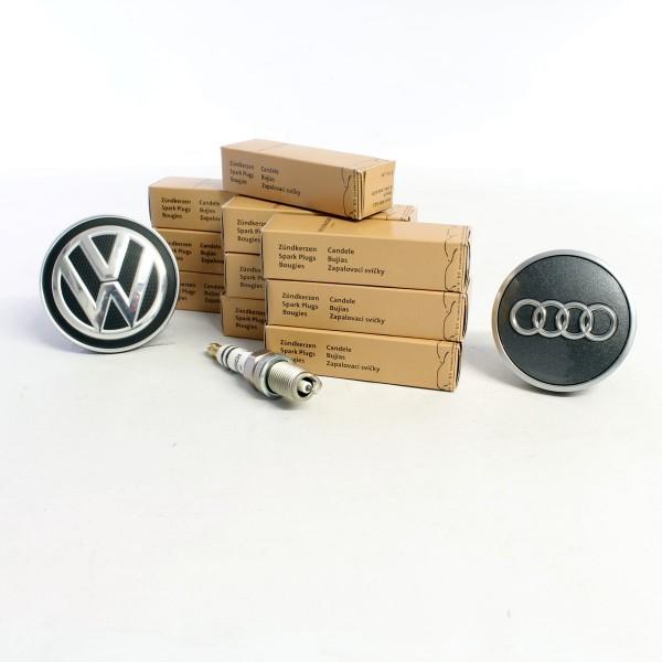 10x Original VW Audi Zündkerze 1.8 TFSI 2.0 TFSI 3.0TFSI 4.2FSI 5.2FSI 06H905611