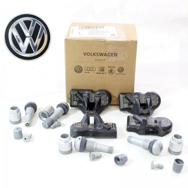 Original VW Rep.Satz Reifendruckkontrollsystem 5Q0998270D RDKS 433MHZ NEU