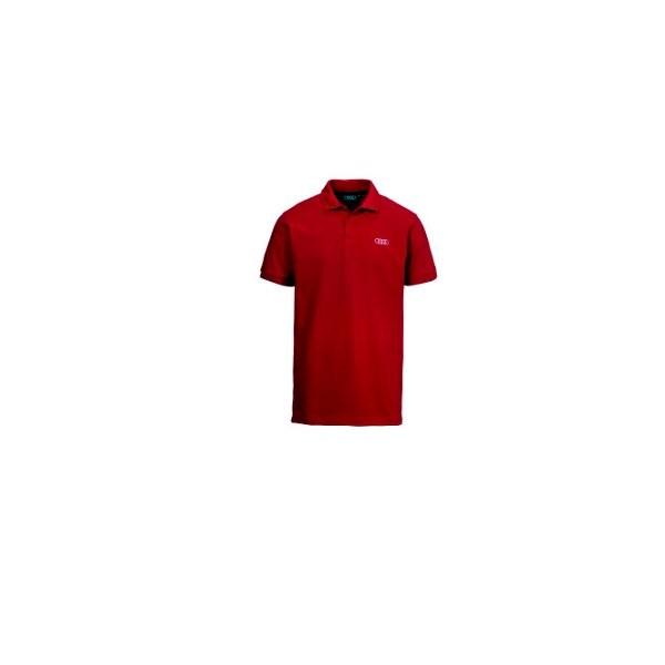 Original Audi Service CF Poloshirt Herren Rot 4131600115 Gr.XL