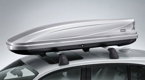 Original BMW Dachbox 320 Liter silber Gepäckbox Skibox 82732326509 NEU