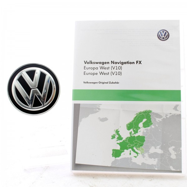 Original Volkswagen Navigation FX Europa West V10 3C8051884DD