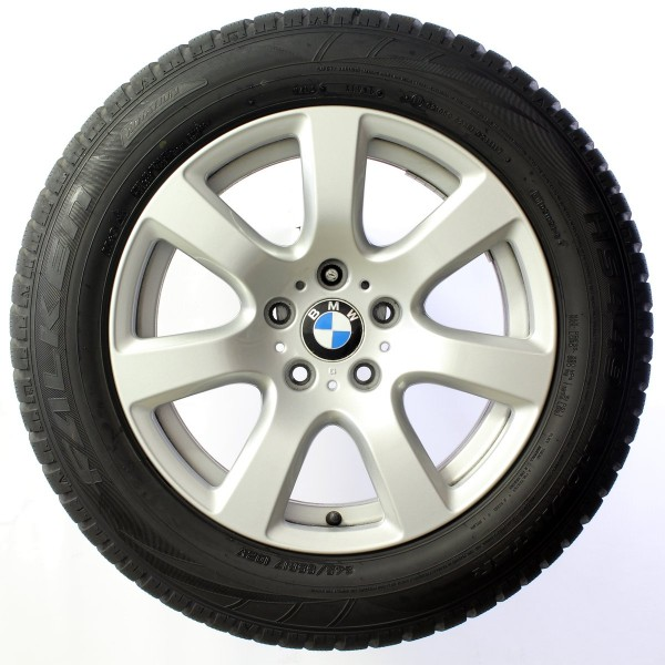 Original BMW 7er F01 F02 17 Zoll Winterräder Sternspeiche 233 6777654