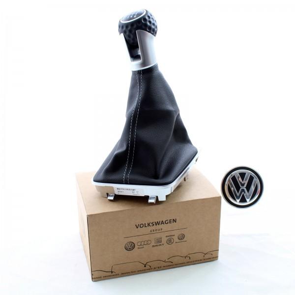 Original Volkswagen Schaltknauf Golfball Golf 7 GTI / GTD 5G1711113DCBT NEU
