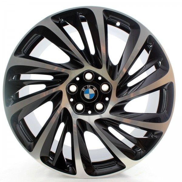 BMW i8 Originale Alufelge Turbinenstyling 625 Schwarz 20 Zoll 36116862897