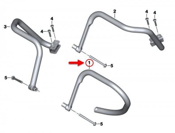 Original BMW Motorrad Aufstellgriff  46548548592 NEU