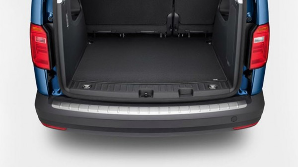 Original VW Caddy IV 2K ab 2015 Ladekantenschutzleiste Edelstahloptik 2K5061195