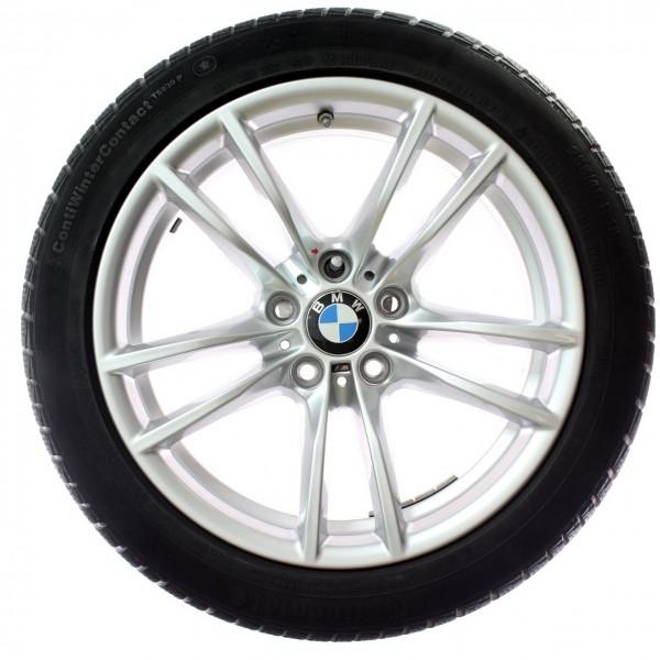Original BMW 3er F80 M3 4er F82 F83 M4 Winterradsatz V-Speiche 640M 18 Zoll RDC