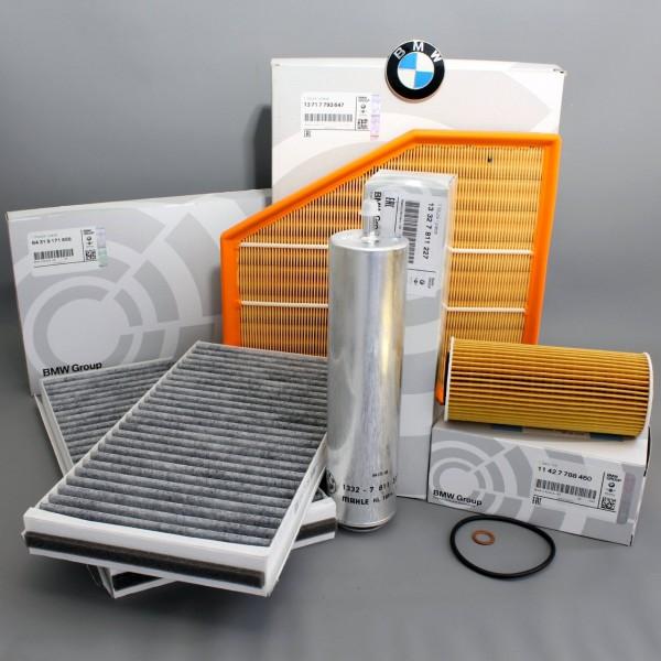 Original BMW Inspektionspaket Filterset 5er E60 E61 6er E63 E64 535d 635d 788460