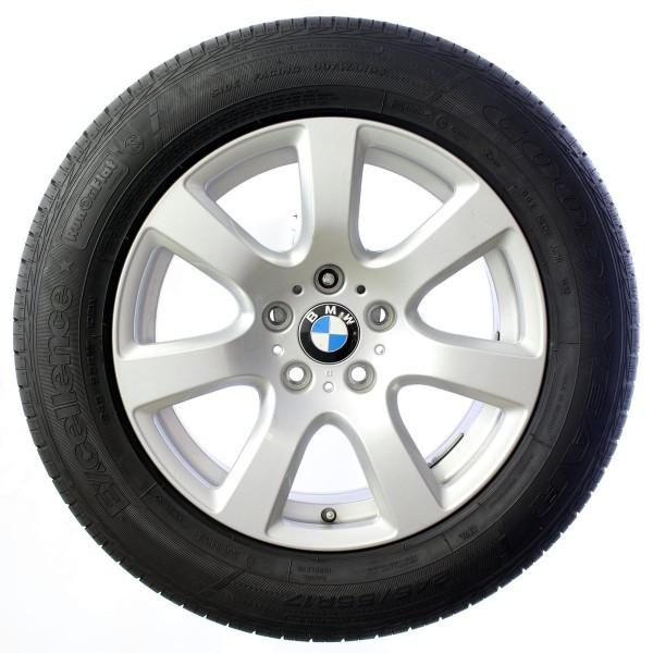 Original BMW 7er F01 F02 17 Zoll Sommerräder Sternspeiche 233 6777654